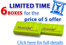 aloeride 6 for 5 offer