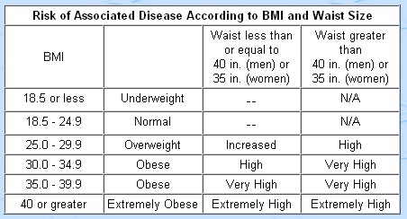 differences between being overweight and obese